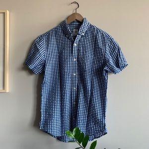 Gap men's plaid shirt